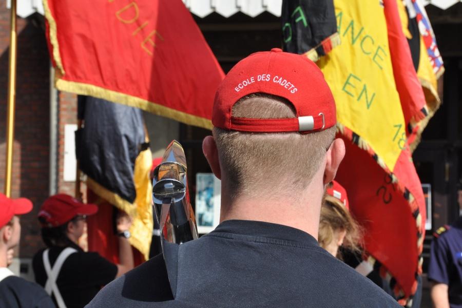 Défilé jeugdbrandweer (foto René Huybrechts)