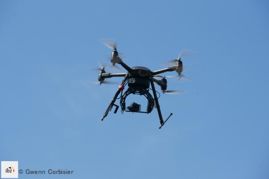 Drone live stream