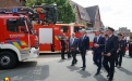Revue des troupes Pompiers (photo Gwenn Corbisier)